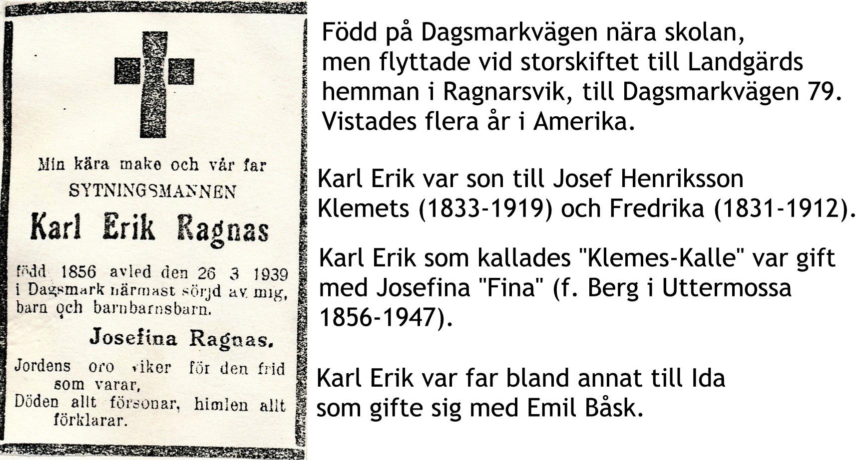 Ragnas Karl Erik