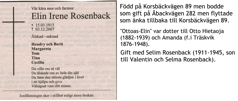 Rosenback Elin Fru