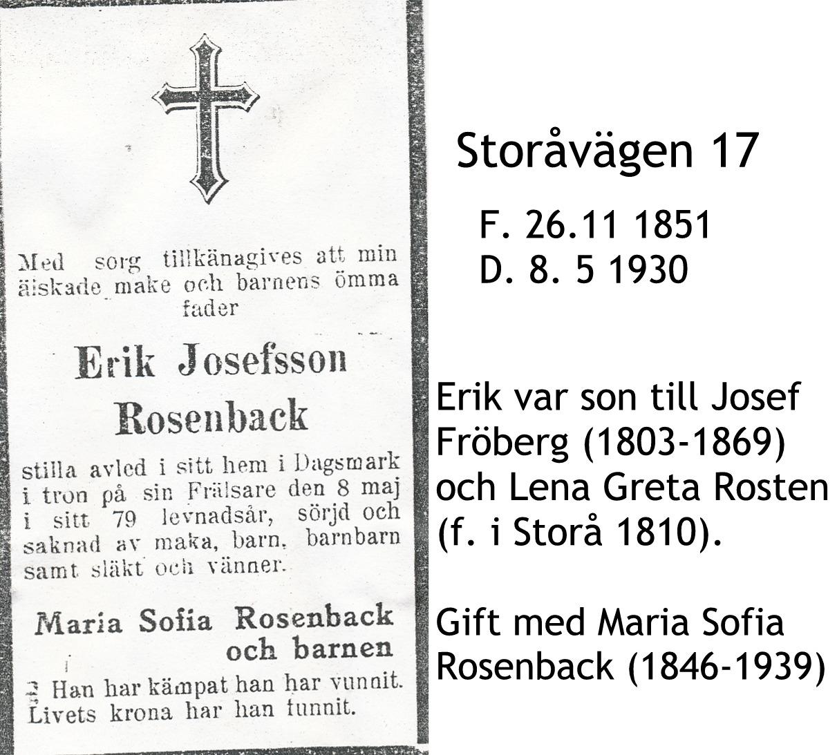 Rosenback Erik