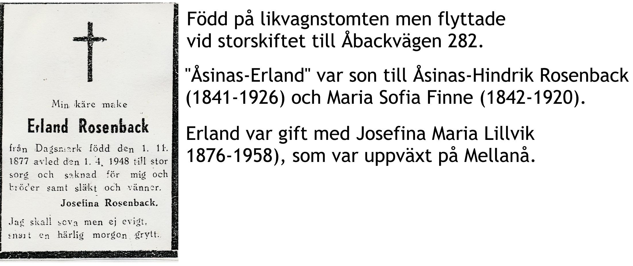 Rosenback Erland