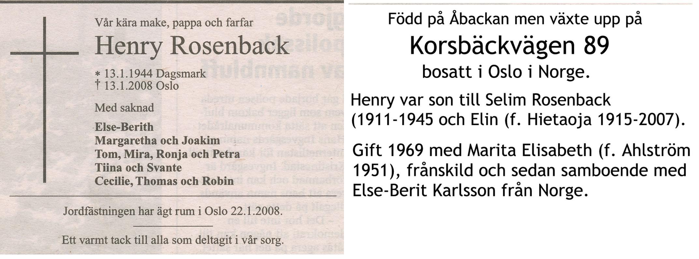 Rosenback Henry