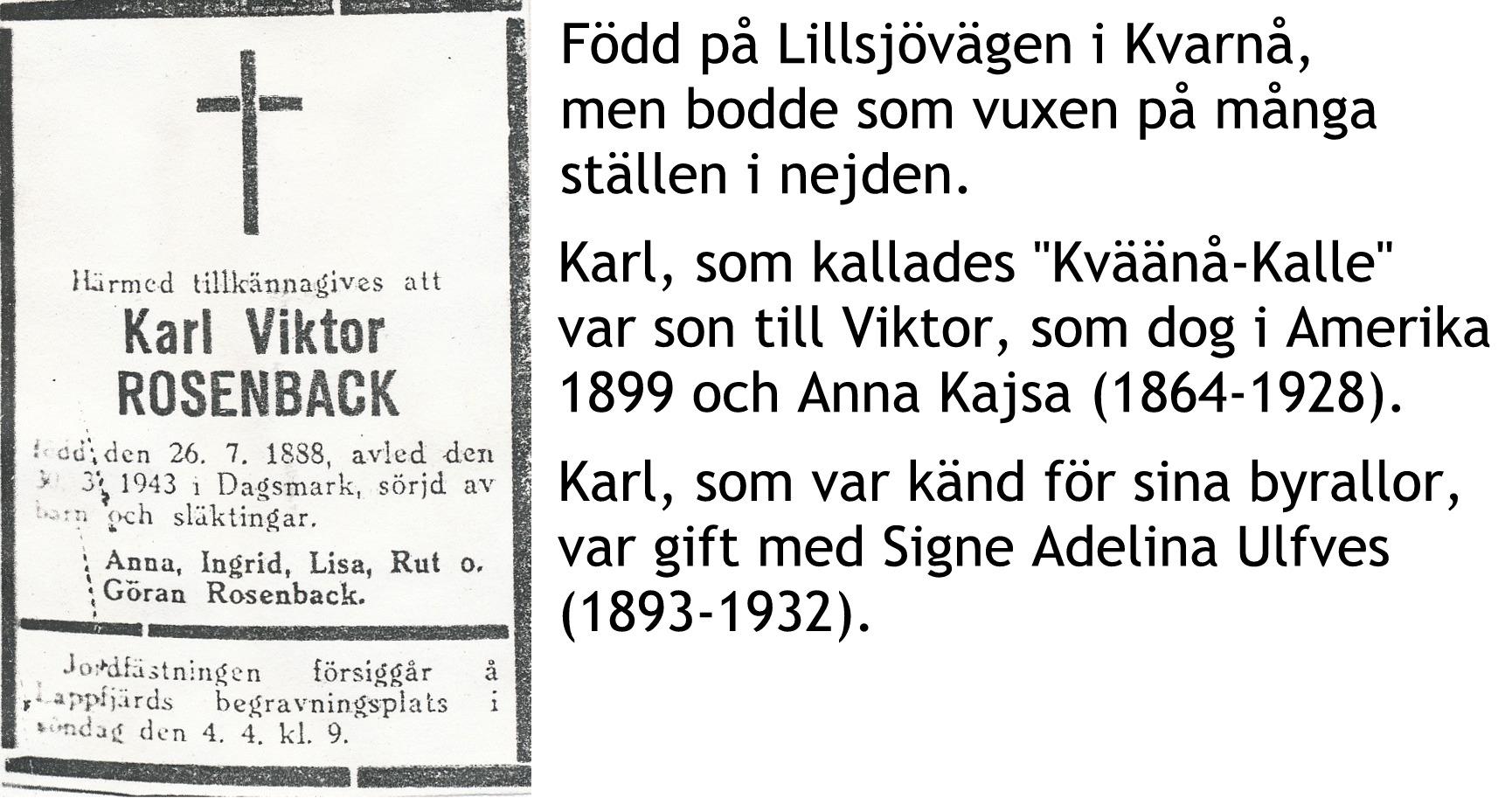 Rosenback Karl
