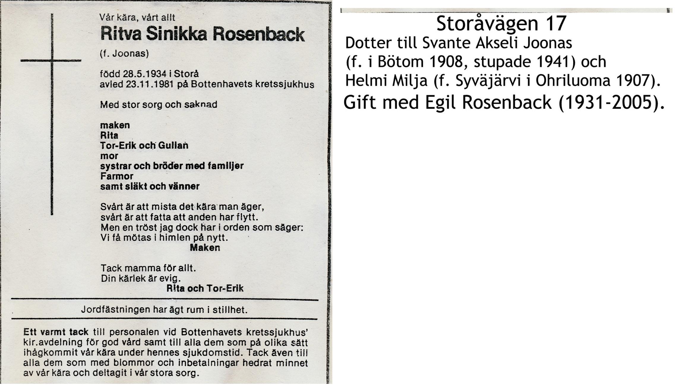 Rosenback Ritva