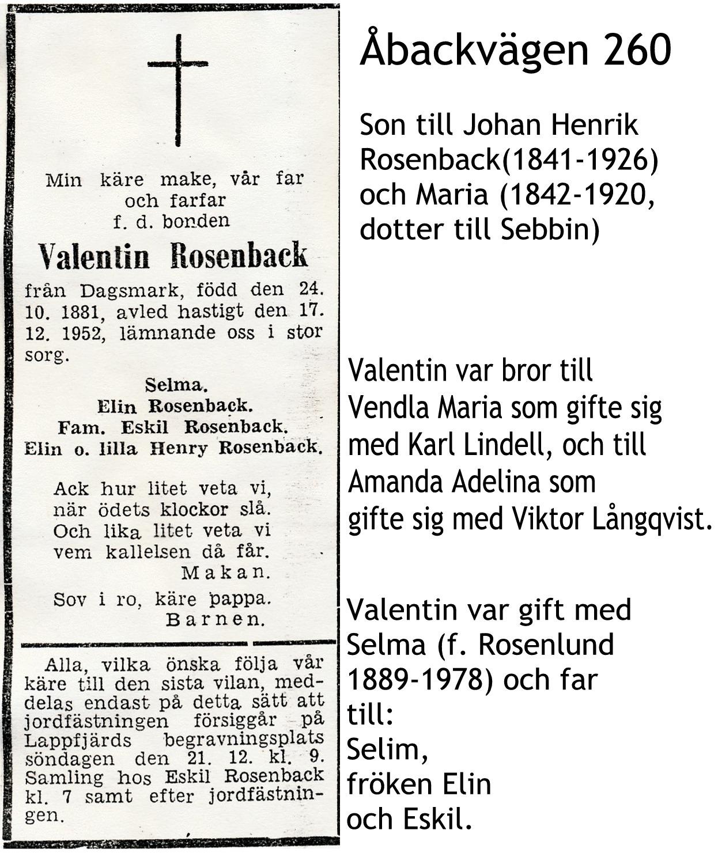 Rosenback Valentin