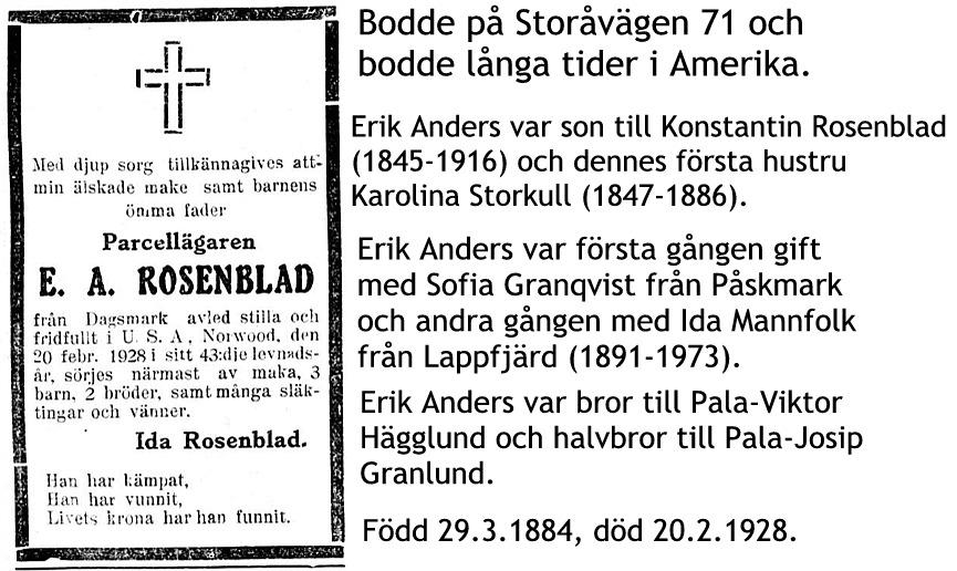 Rosenblad Erik Anders