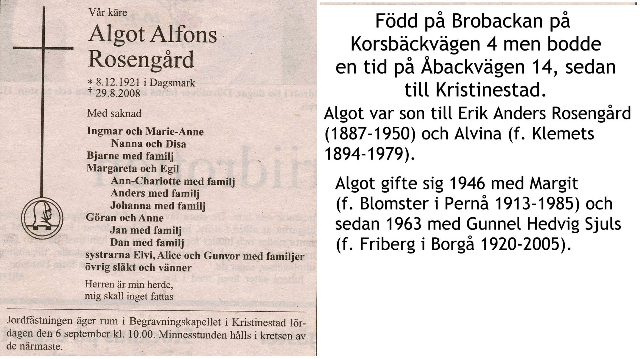 Rosengård Algot