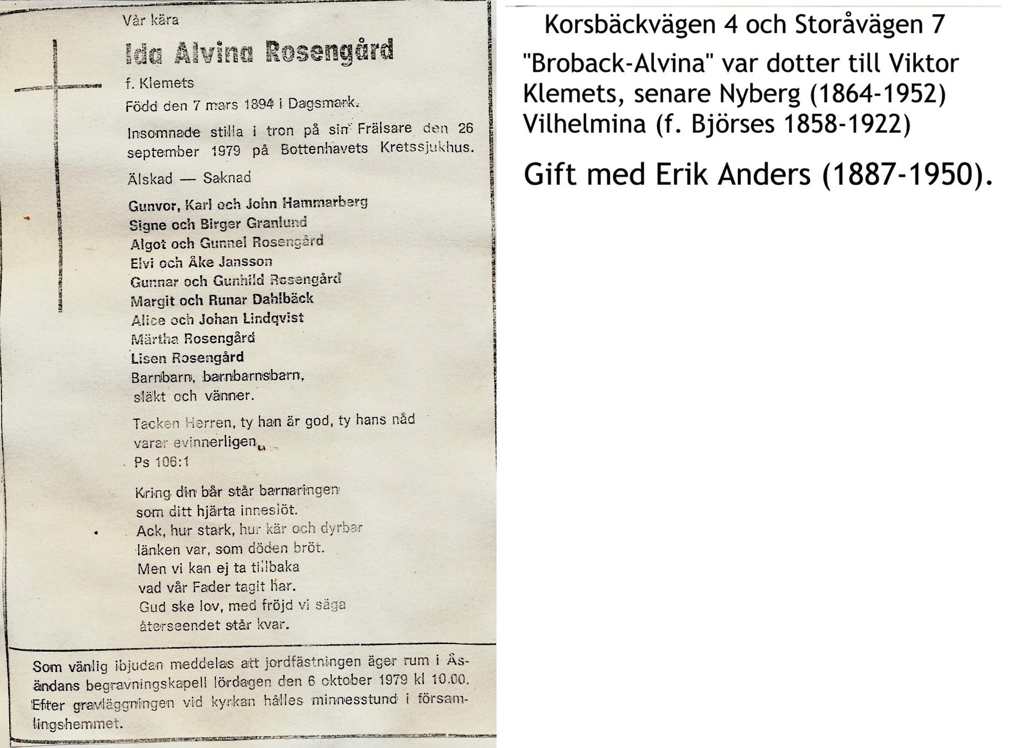 Rosengård Alvina