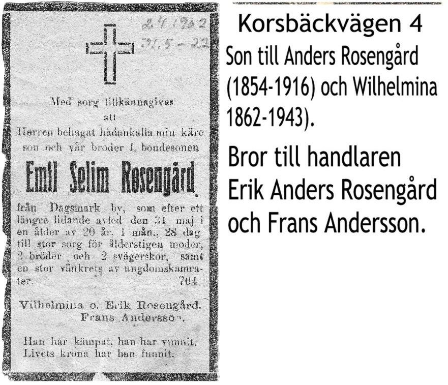 Rosengård Emil