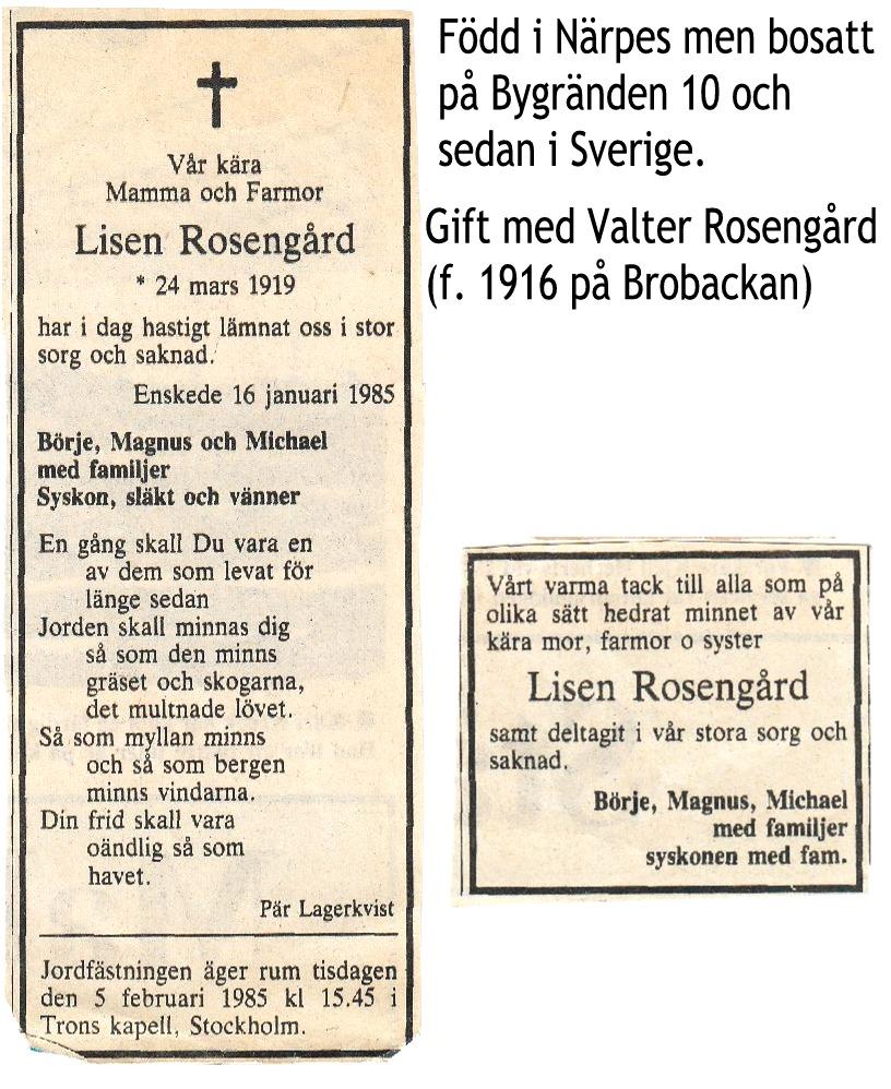 Rosengård Lisen