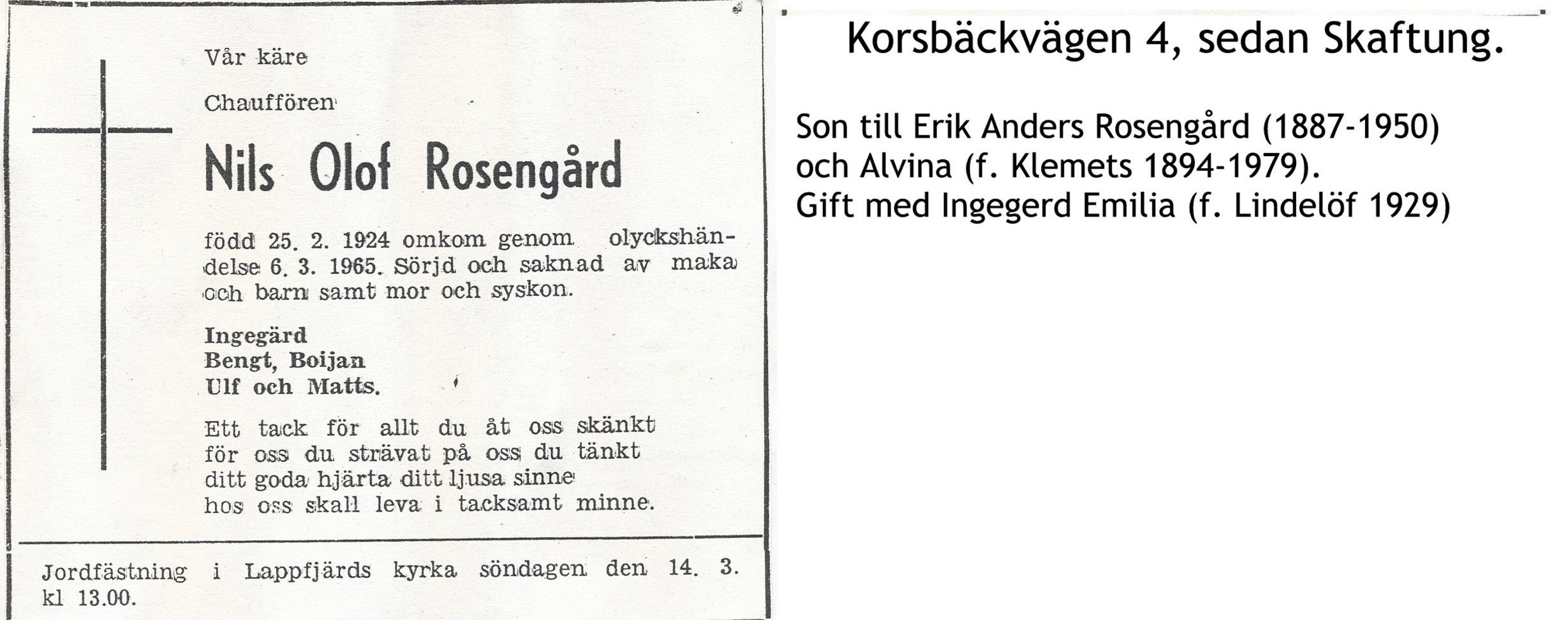 Rosengård Nils