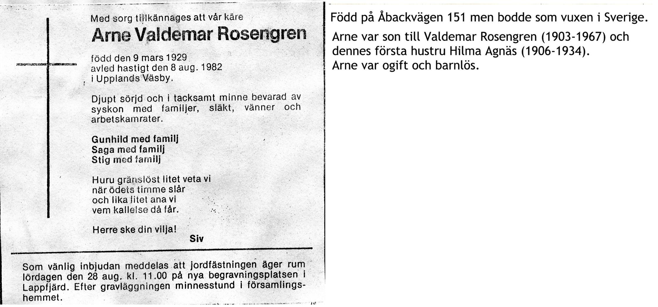 Rosengren Arne