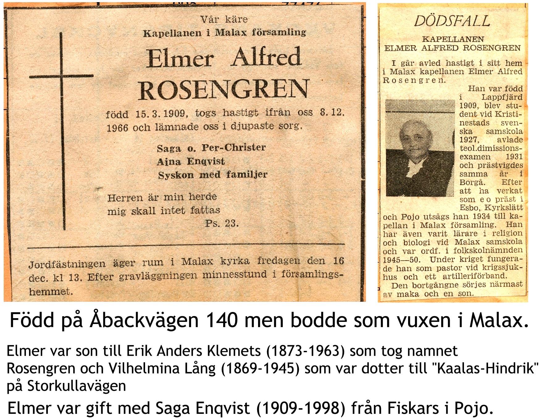 Rosengren Elmer