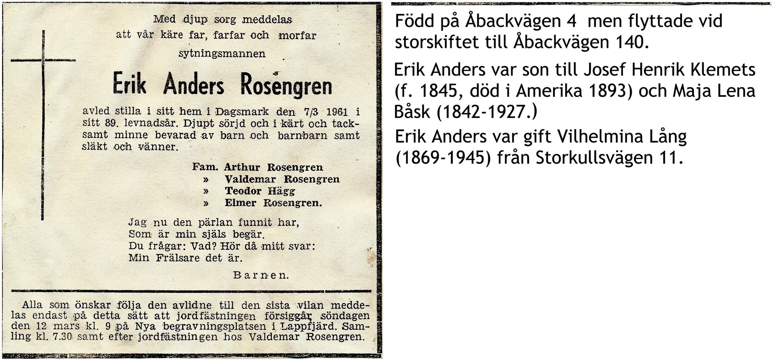 Rosengren Erik Anders