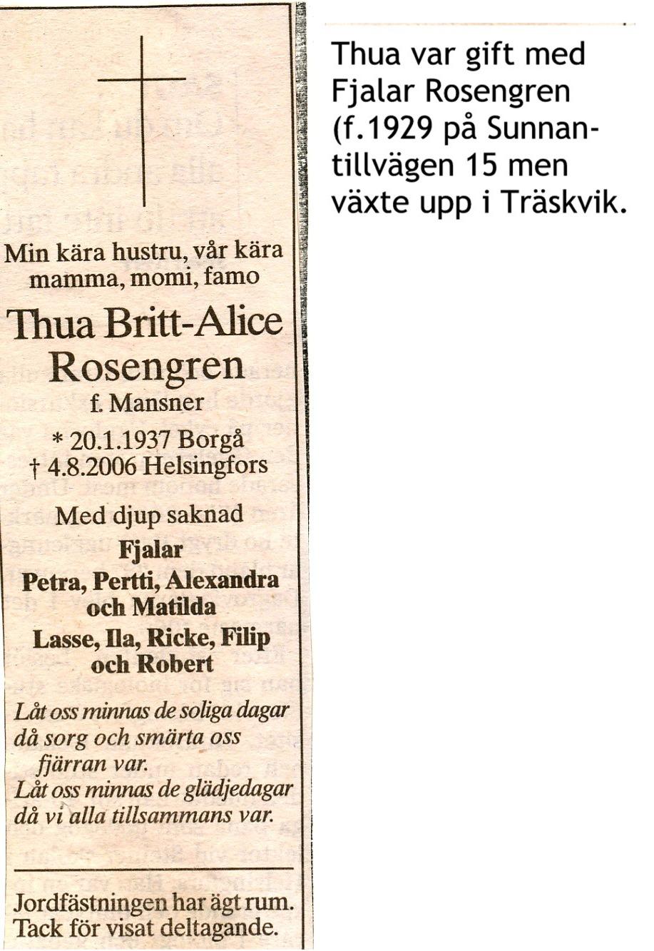 Rosengren Thua