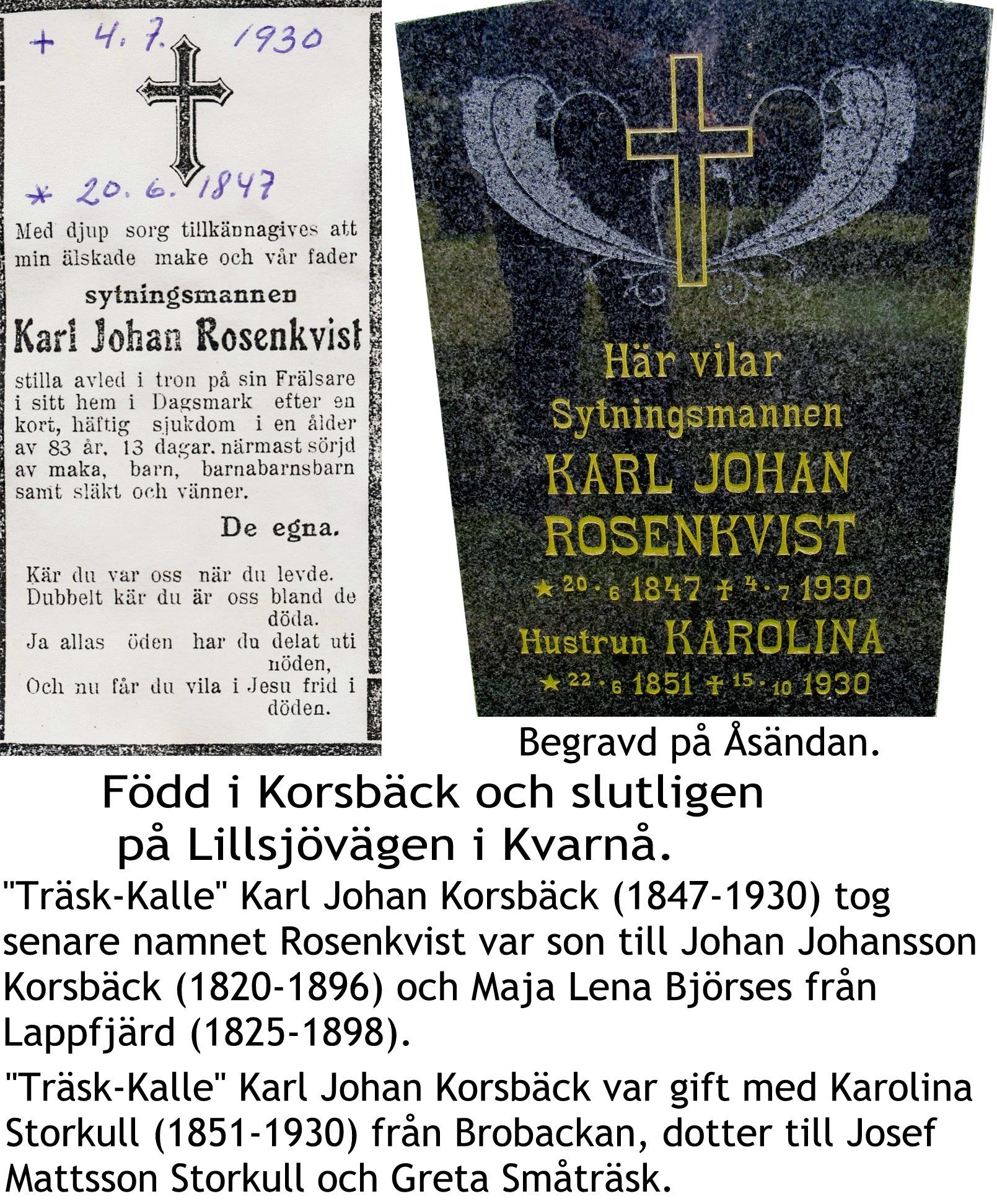Rosenkvist Karl Johan