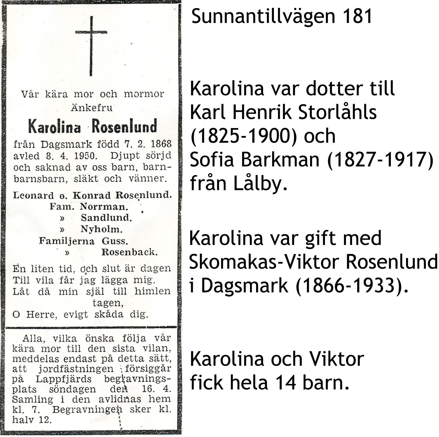 Rosenlund Karolina