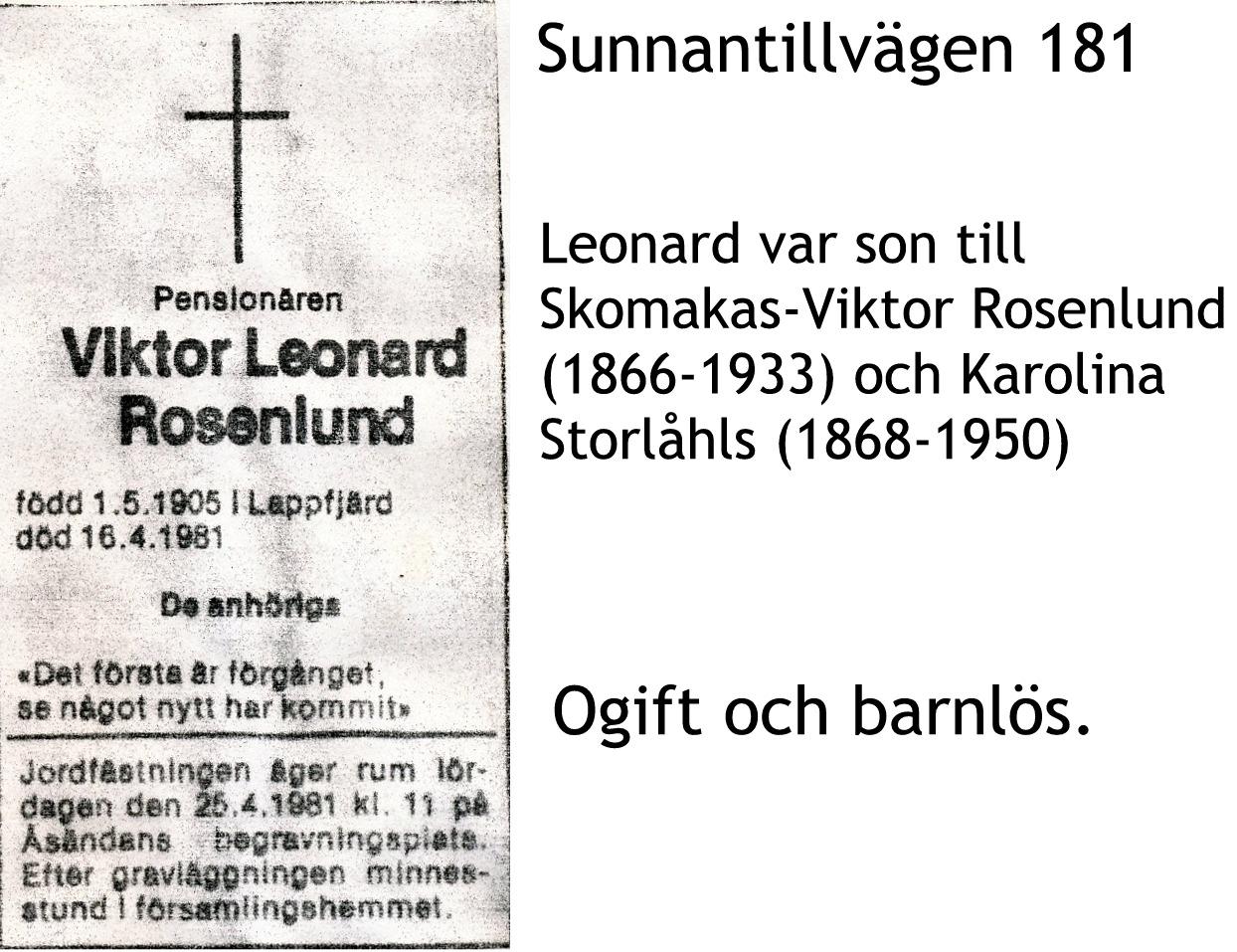 Rosenlund Leonard