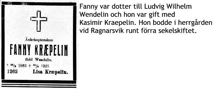 Kraepelin Fanny