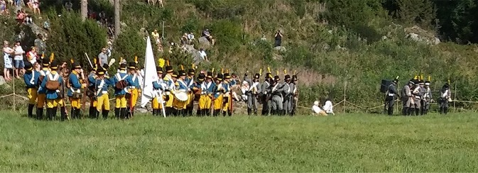 Oravais slagfält i augusti 2018.