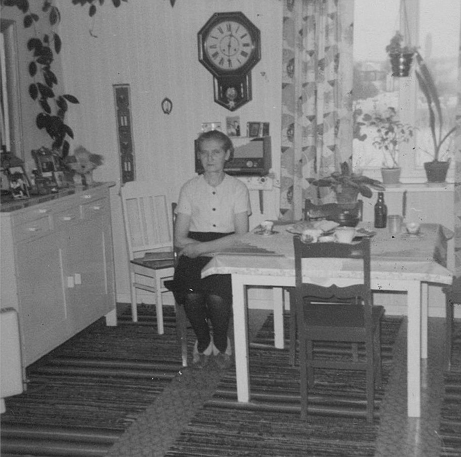 Valentins dotter Elin Rosenback fyllde 60 år 1969.