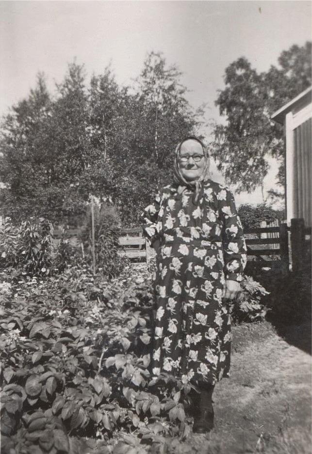 Selma Klemets (1886-1973) var dotter till Erik Johan Johansson Klemets (1849-1893) och Maja Sofia Korsbäck (f.1849). Hon gifte sig 1909 med änklingen Erland Grönroos.
