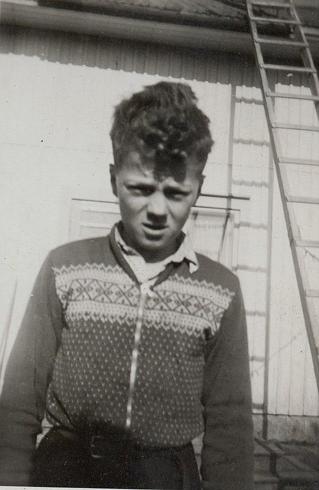Roy Rosenback i unga år.