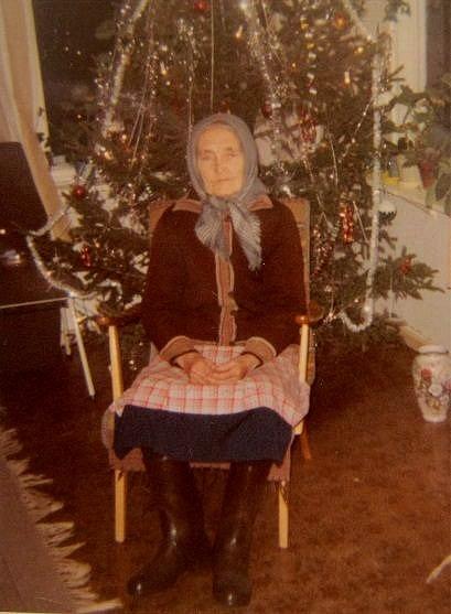 Selma Rosenback julen 1967.
