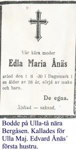 Ånäs Edla Maria