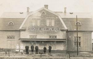 Dagsmark Andelsmejeri var verksamt på 30- och 40-talet.