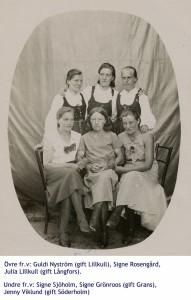 Flickor från Dagsmark.
